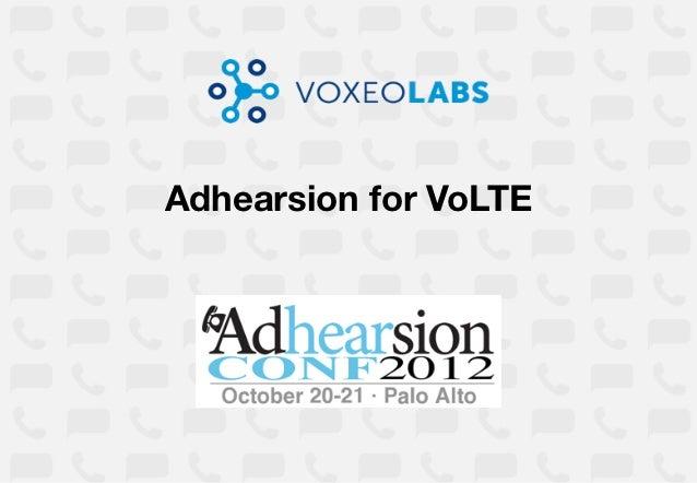 Adhearsion for VoLTE