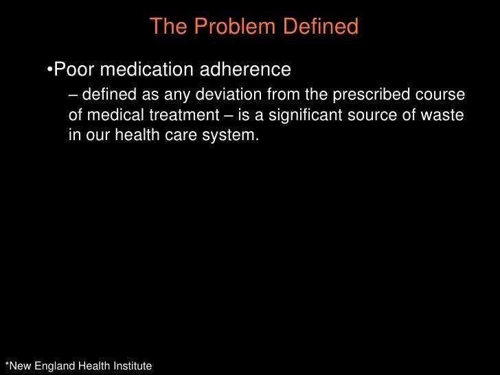"""""""Medication Compliance"""" by Dan Bernstein (Chicago Health 2.0) Slide 3"""