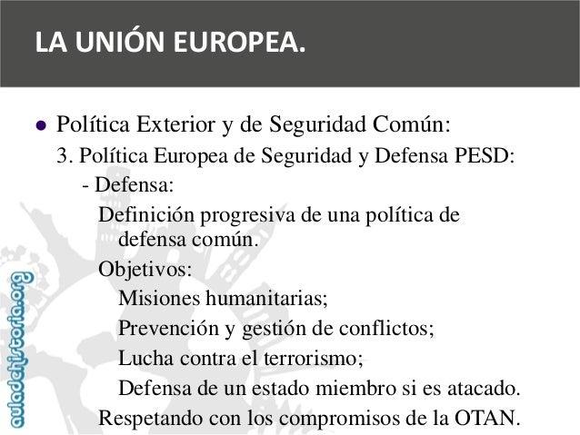 Adh geo espa a en la uni n europea for Politica exterior de espana