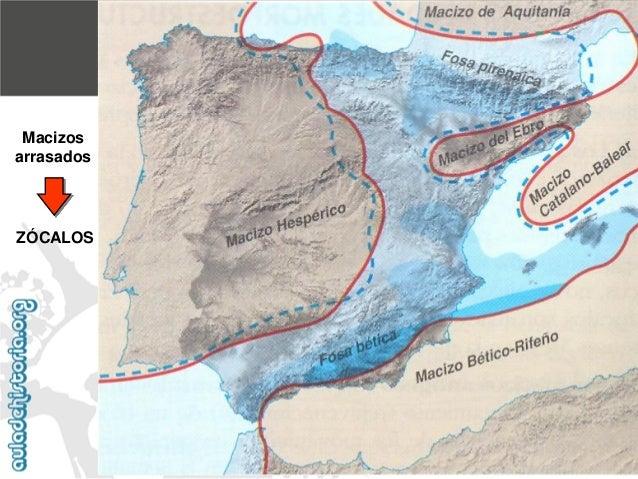El zócalo peninsular2. EVOLUCIÓN GEOLÓGICA DE LAS UNIDADES MORFOESTRUCTURALES