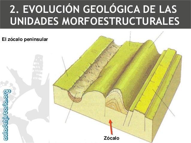 3.Era secundaria o Mesozoico (225 –68 m.a.).  •Calma tectónica  •Erosión  •Sedimentaciónen  •Caliza  •Arenisca  •MargasTra...
