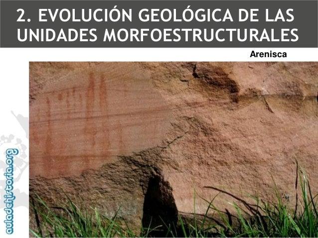 Marga: es unaarcilla de color blanquecino o grisáceo, con un alto porcentaje de carbonato cálcico. 2. EVOLUCIÓN GEOLÓGICA ...
