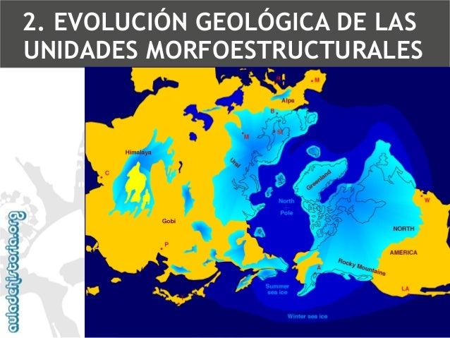 5.Era cuaternaria (desde hace 1,7 m.a.)  Las glaciaciones en la península Ibérica2. EVOLUCIÓN GEOLÓGICA DE LAS UNIDADES MO...