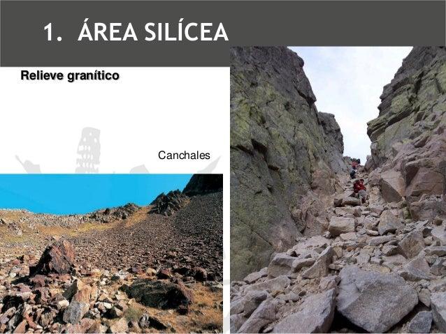Canchal  Relieve granítico  1.ÁREA SILÍCEA