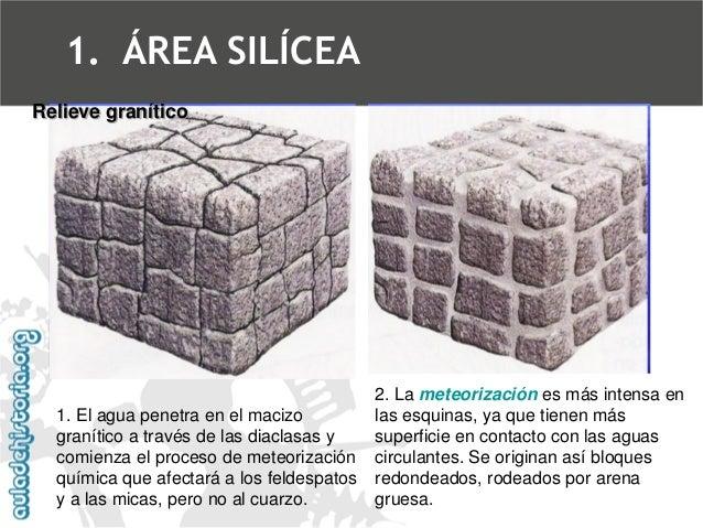 3. La erosión de la arena gruesa resultante de la alteración del granito dejará  los bloques redondeados apilados en dispo...