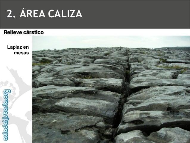 PoljéRelieve cárstico2. ÁREA CALIZA