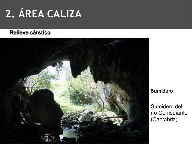 Relieve cársticoDolina2. ÁREA CALIZA