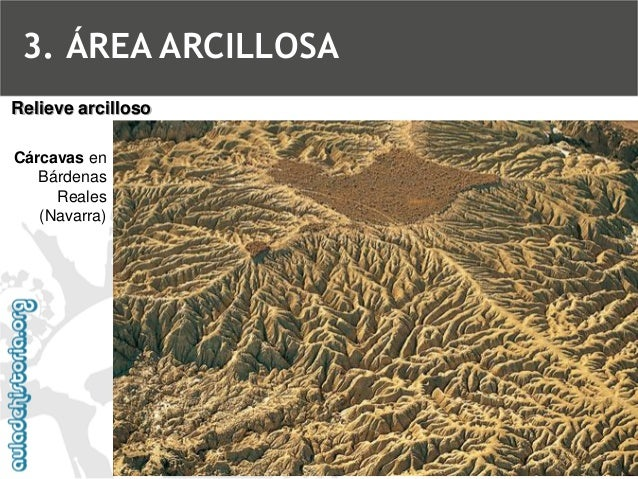 BadlandsRelieve arcilloso3. ÁREA ARCILLOSA