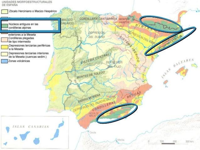 formada por  se encuentran en…?  •Zócalos  •Macizos antiguos  •Zonas de las cordilleras alpinas e intermedias  como  Rocas...