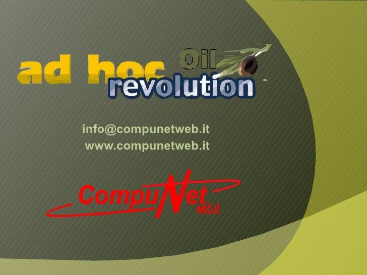 [email_address] www.compunetweb.it