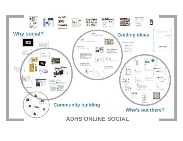 Social Media for Online Community Building in Public Health