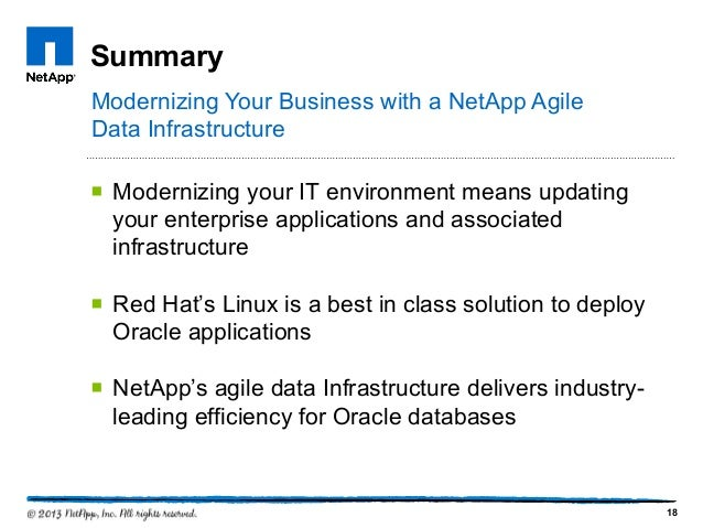 Updating your applications infrastructure