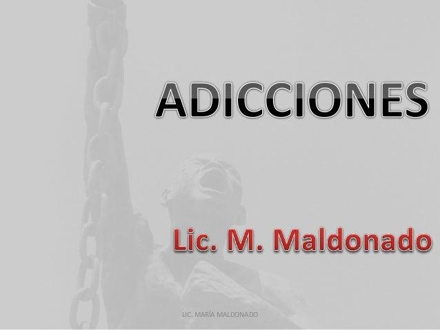 LIC. MARÍA MALDONADO
