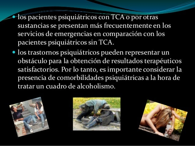 La meseta de la tolerancia a la dependencia alcohólica