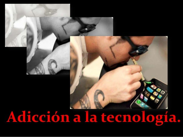 Adicción a la tecnología Slide 2
