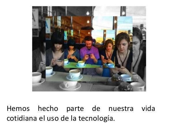 Adicción a la tecnología Slide 3