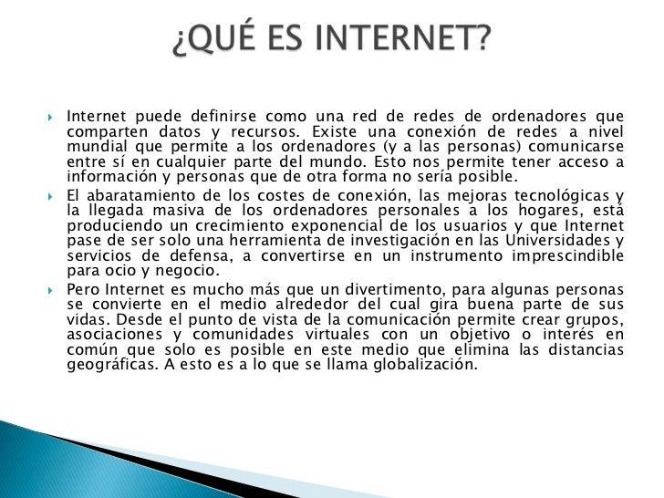 Adicción al internet Slide 2
