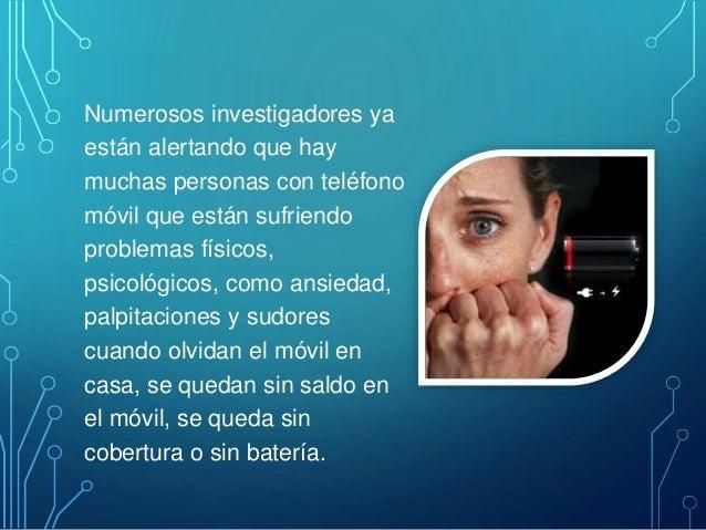Numerosos investigadores ya están alertando que hay muchas personas con teléfono móvil que están sufriendo problemas físic...