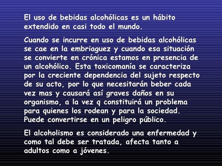 El alcoholismo el tratamiento por las medicinas del precio