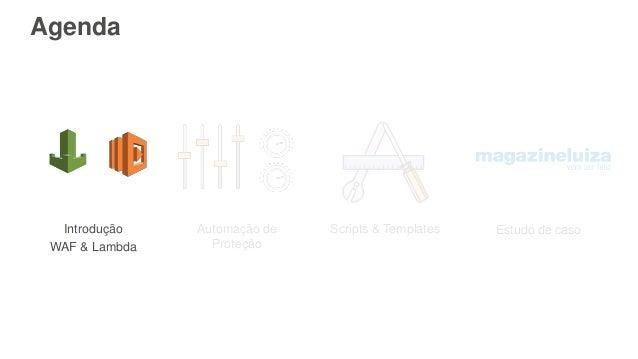 Adicionando segurança web: AWS WAF Slide 3