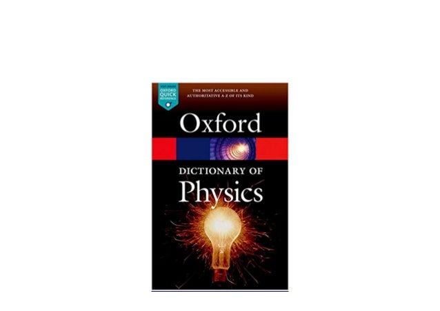 Audiobooks_$ library A Dictionary of Physics Oxford Quick ...