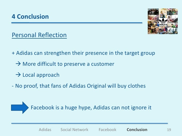 adidas conclusion