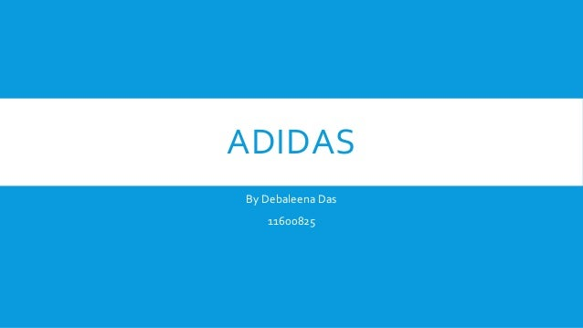 ADIDAS By Debaleena Das 11600825