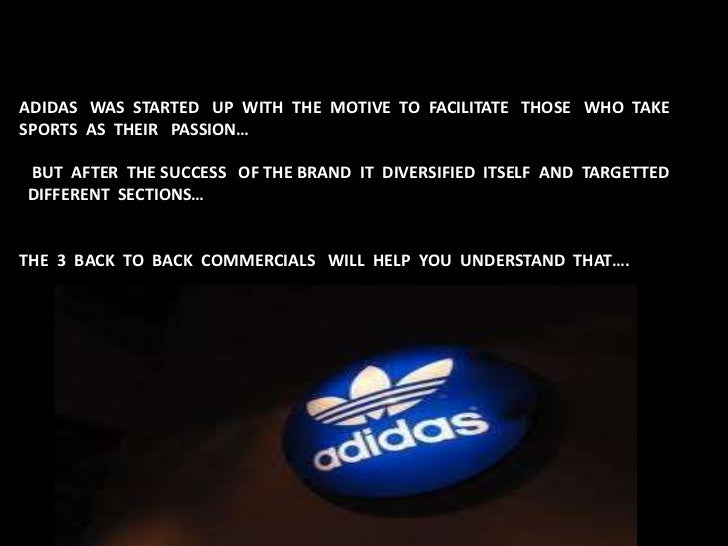 adidas the setting of statement