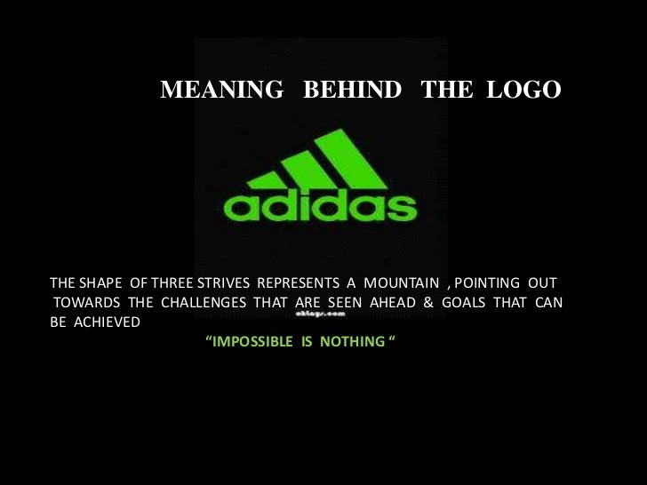 meaning of adidas