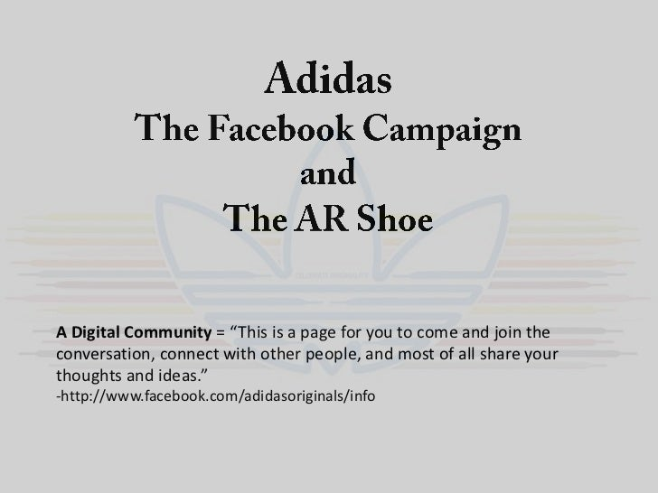 """A Digital Community = """"This is a page for you to come and join theconversation, connect with other people, and most of all..."""
