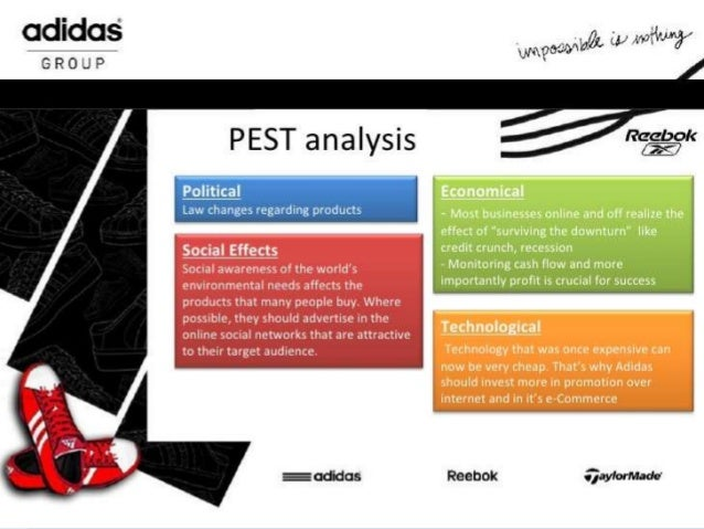 adidas pest and swot analysis Get case study sample on nike swot analysis 2013 and nike pest analysis can be downloaded from myassignmenthelpcom case study based assignment help.