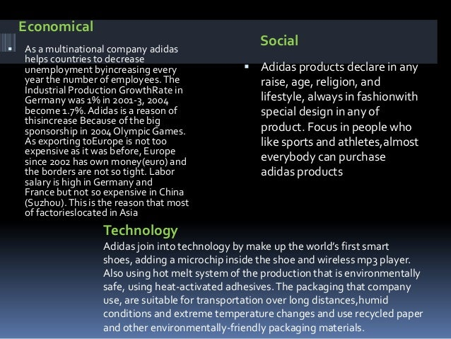  The main competition for Adidas brands andproducts comes from the products and brands ofNike, Puma etc (There is no such...