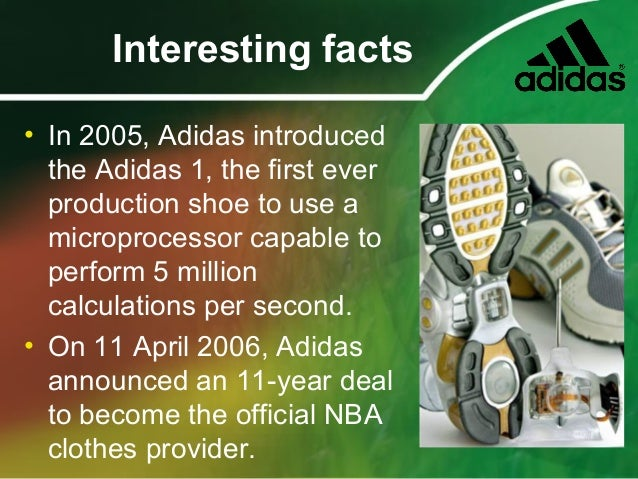 about adidas