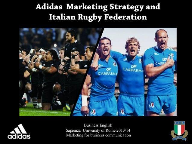 adidas italia marketing