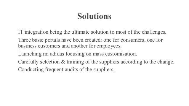 adidas suppliers