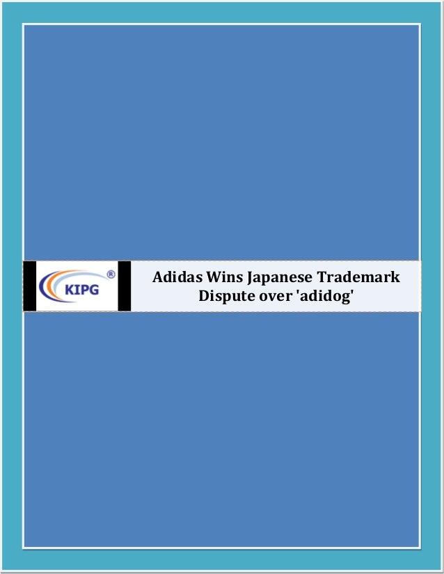 Adidas Wins Japanese Trademark Dispute over 'adidog'