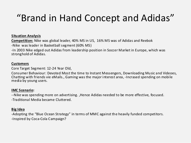 communication adidas