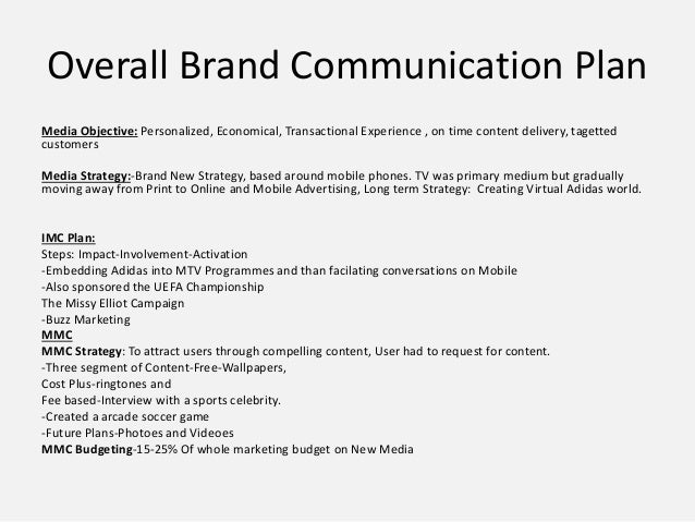 4. Overall Brand Communication