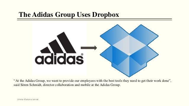 Adidas Chooses Dropbox Enterprise For Collaboration
