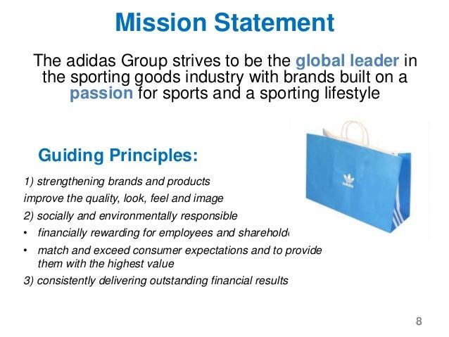 adidas purpose statement