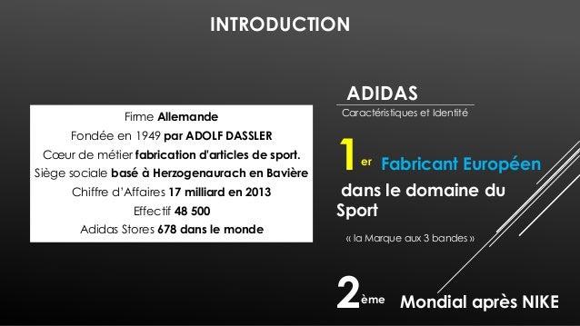 11%  5%  Répartition Chiffre d'Affaires  27% 57%  Chaussures  Vêtements  Autres (filiales)  équipements sportifs  Choix St...