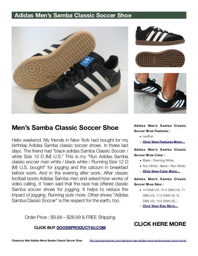 men's samba classic