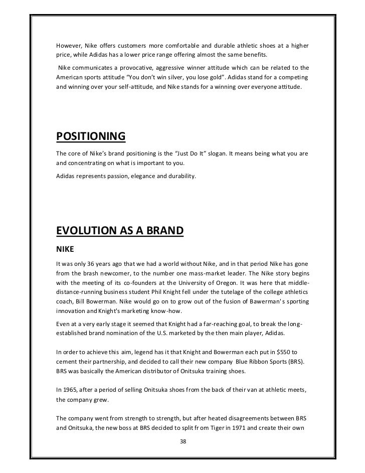 competative analysis puma reebok adidas and nike essay This five forces analysis highlights the forces that are favorable and unfavorable for adidas and how that affects its ability to overcome competitive forces in the industry bargaining power of the suppliers:.