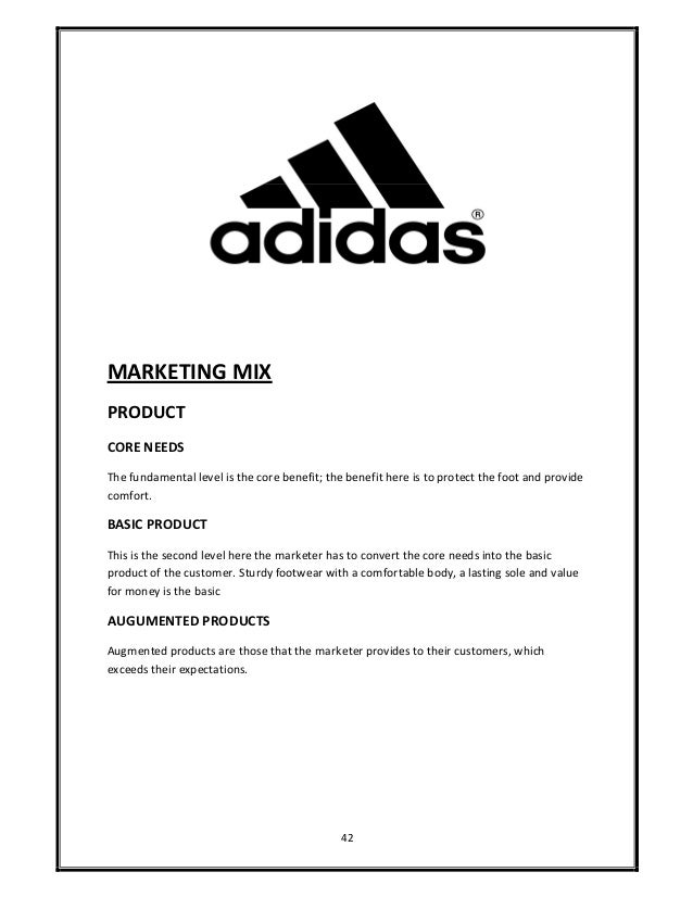 Case Study Of Adidas Shoes