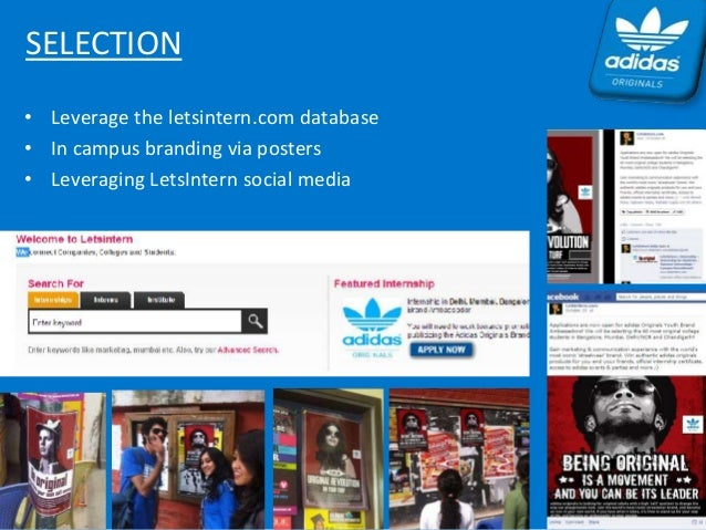 case analysis mobile marketing at adidas View homework help - case studie adidas from mktm 613 at tenaga national university, bandar muadzam shah case 1: the brand in the hand: mobile marketing at adidas question 1 what is adidas position find study resources.