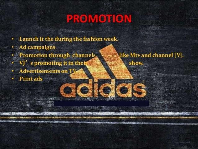 Marketing Of Adidas Shoes