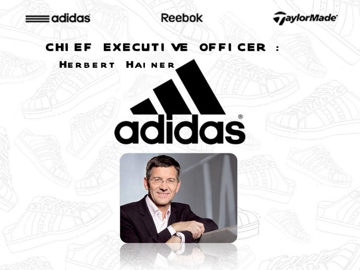 adidas group vision and mission Creative director of gucci (gucci, 2012) 22 vision, mission and values  the gucci target group is the affluent middle to upper classes the consumer.