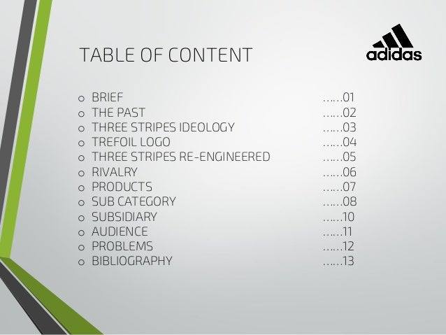 Adidas Brand Research