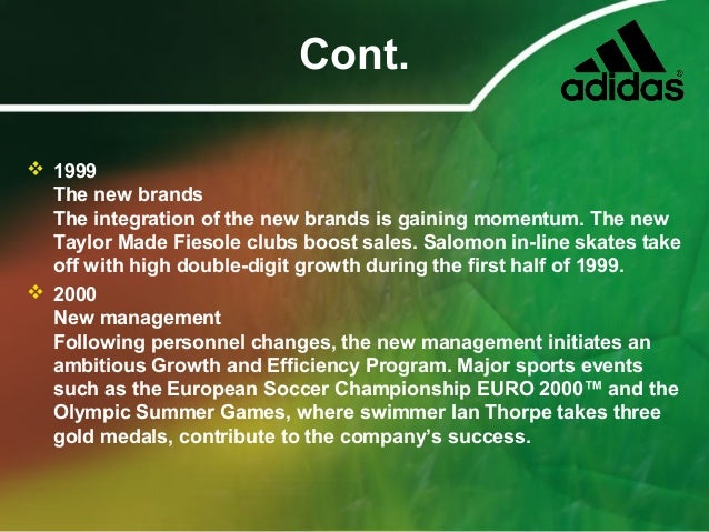 strategic benefit of adidas reebok acquisition How can organizations and individuals manage intercultural challenges and benefit from diversity intercultural management is about managing across cultures: the difficulties and opportunities it brings and the competencies needed to handle the situations and create solutions.