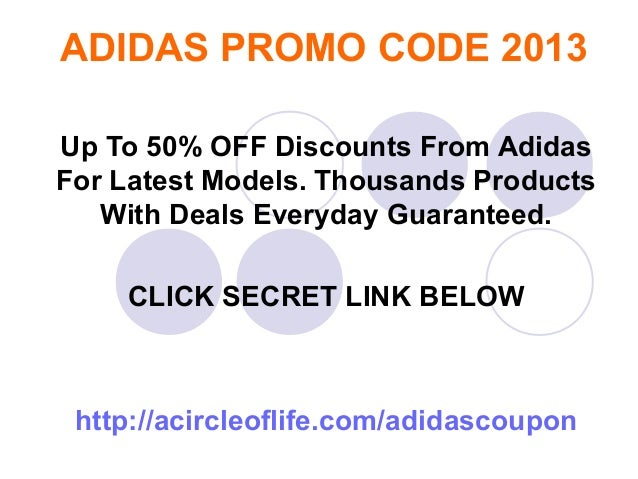 Adidas coupon code in store